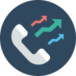 Outbound call center software with a CRM integration. Outbound calling solution from Voiptime
