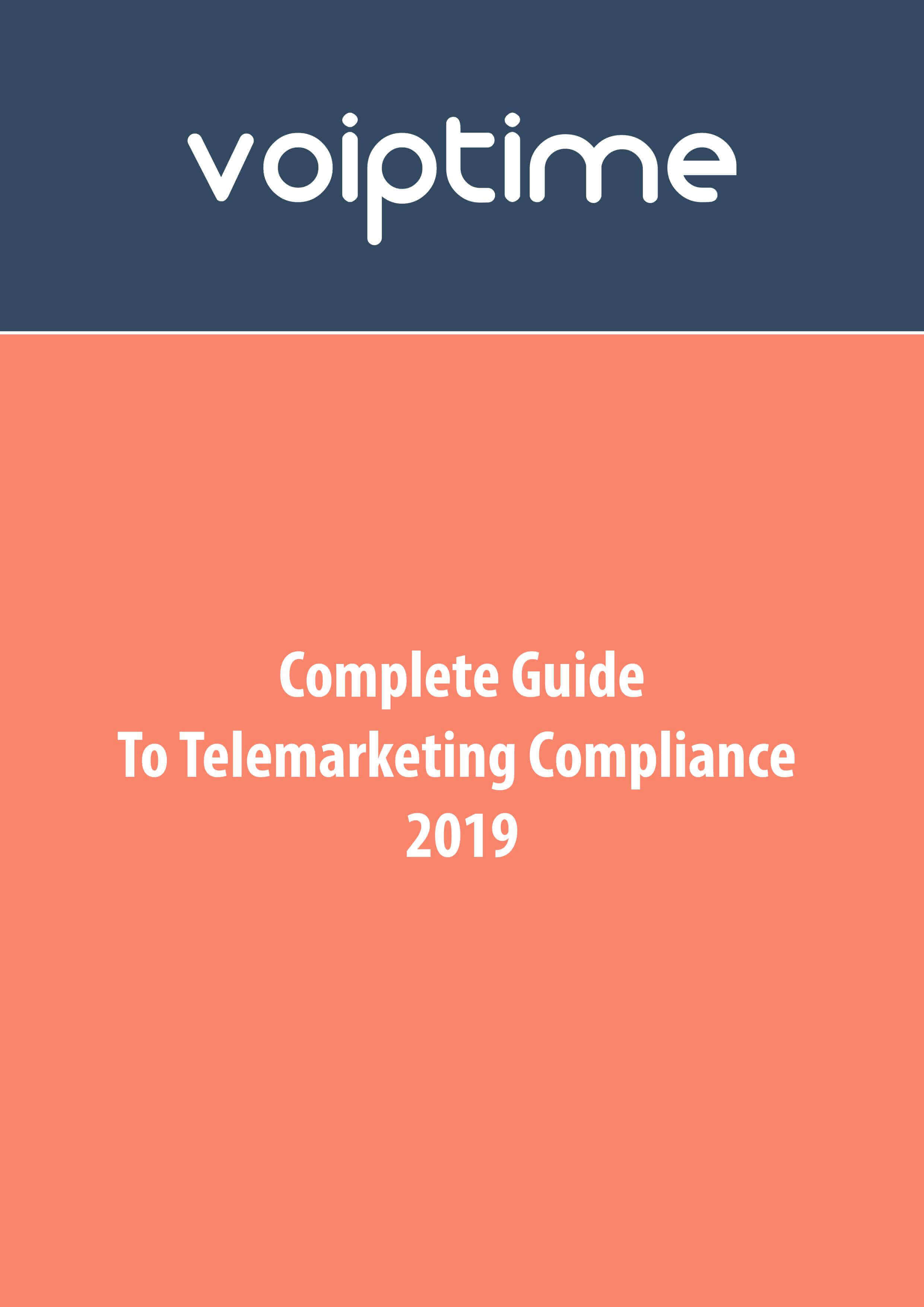 Complete Guide to Telemarketing Compliance_Voiptime Cloud